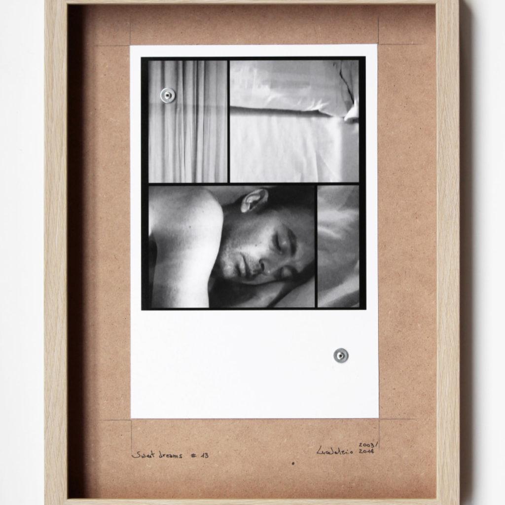 sweet dreams #13. stampa fotografica su mdf cm. 42,5 x 32,5. 2003/2014