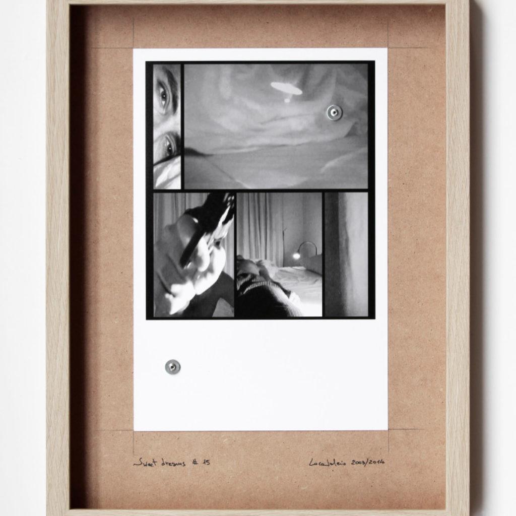 sweet dreams #15. stampa fotografica su mdf cm. 42,5 x 32,5. 2003/2014