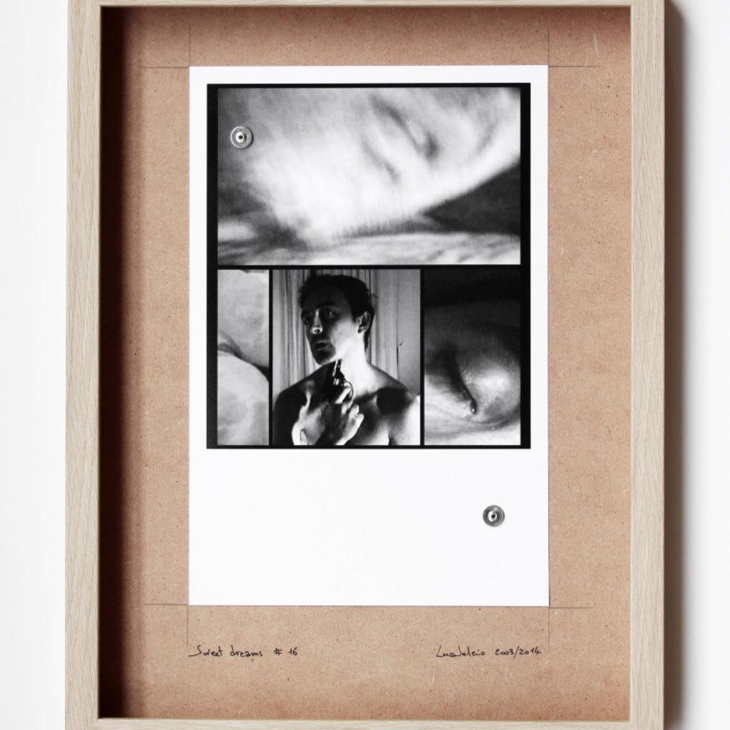 sweet dreams #16. stampa fotografica su mdf cm. 42,5 x 32,5. 2003/2014