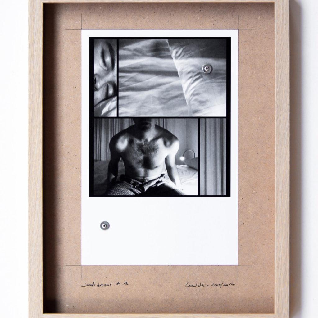 sweet dreams #18. stampa fotografica su mdf cm. 42,5 x 32,5. 2003/2014