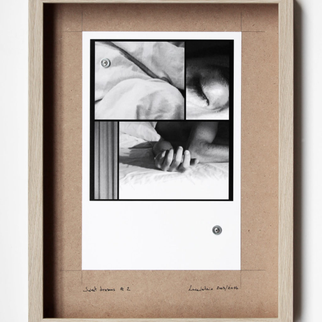 sweet dreams #2. stampa fotografica su mdf cm. 42,5 x 32,5. 2003/2014