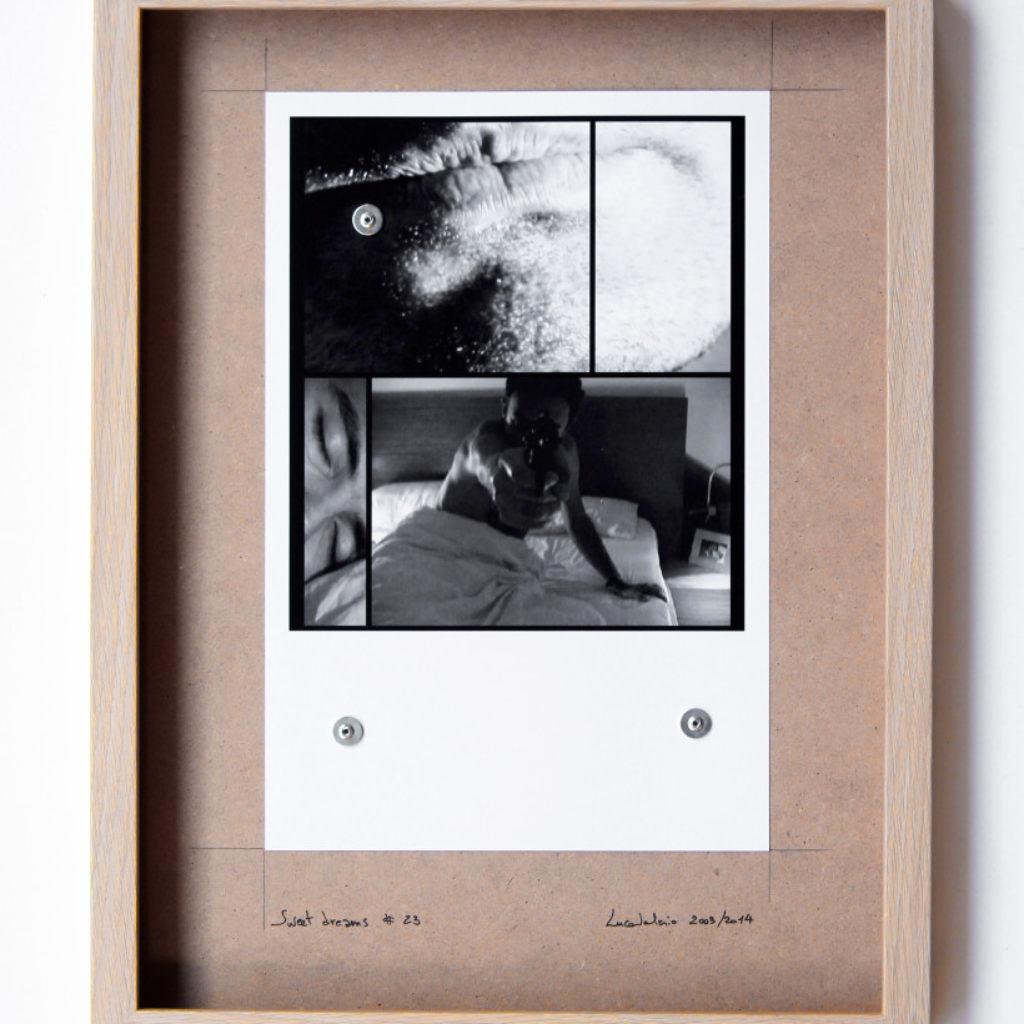 sweet dreams #23. stampa fotografica su mdf cm. 42,5 x 32,5. 2003/2014