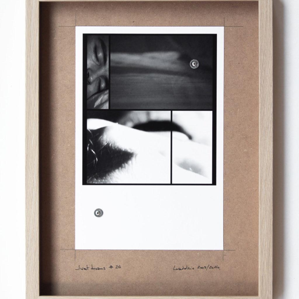 sweet dreams #24. stampa fotografica su mdf cm. 42,5 x 32,5. 2003/2014