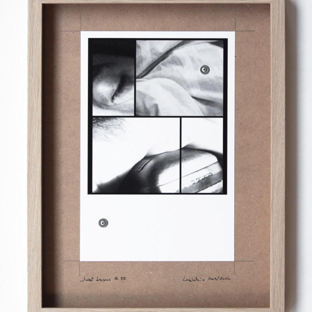 sweet dreams #25. stampa fotografica su mdf cm. 42,5 x 32,5. 2003/2014