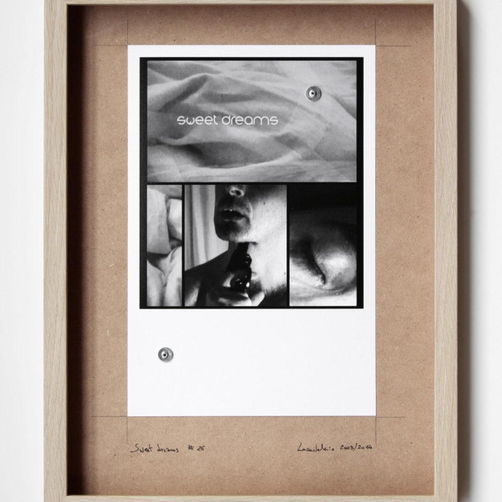 sweet dreams #26. stampa fotografica su mdf cm. 42,5 x 32,5. 2003/2014
