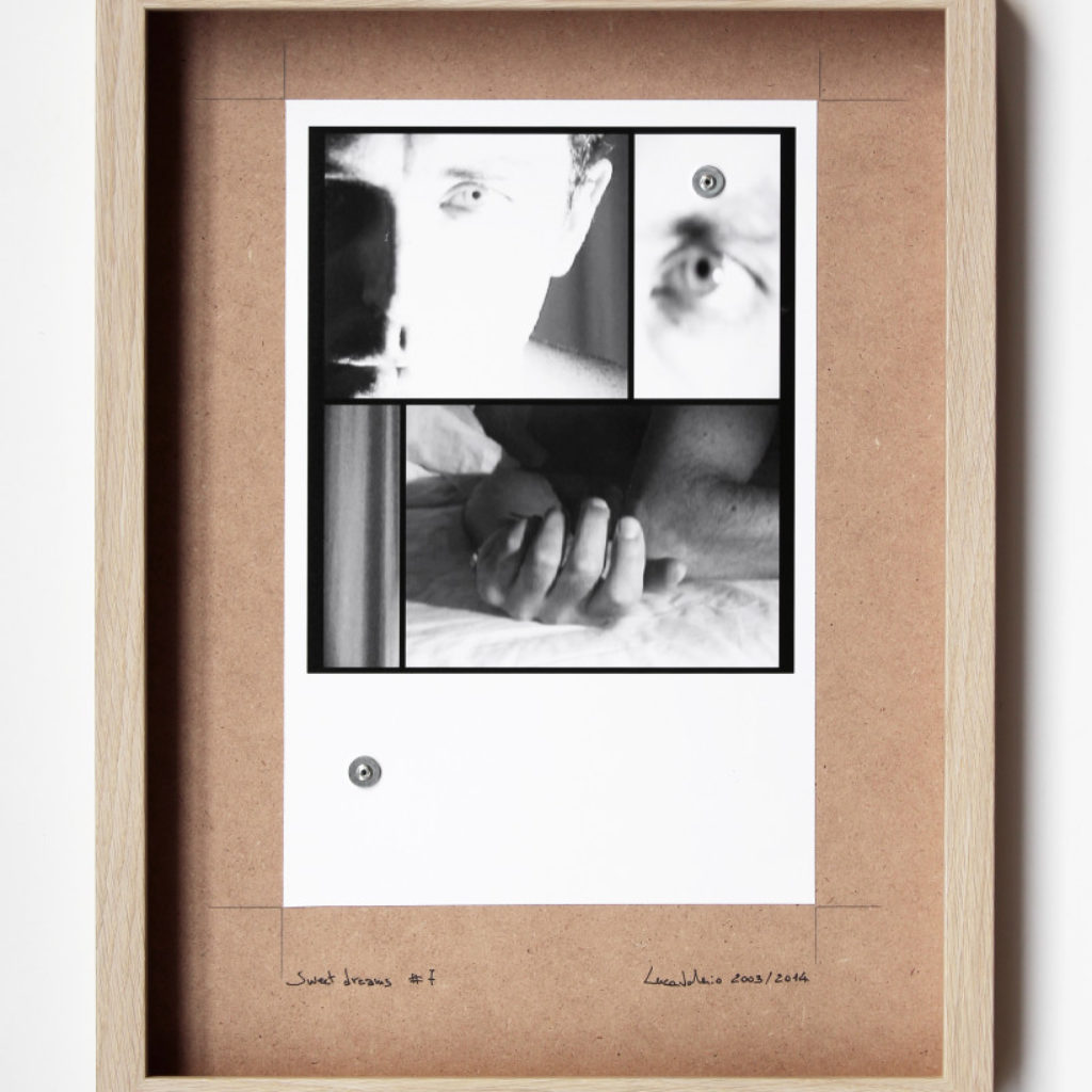 sweet dreams #7. stampa fotografica su mdf cm. 42,5 x 32,5. 2003/2014