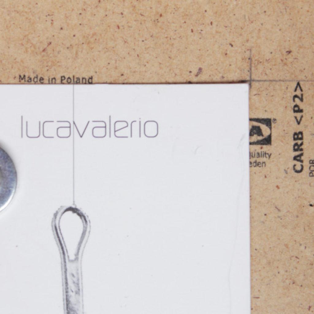 card (part). stampa tipografica su carta e mdf cm. 17,3 x 12,4. 2014