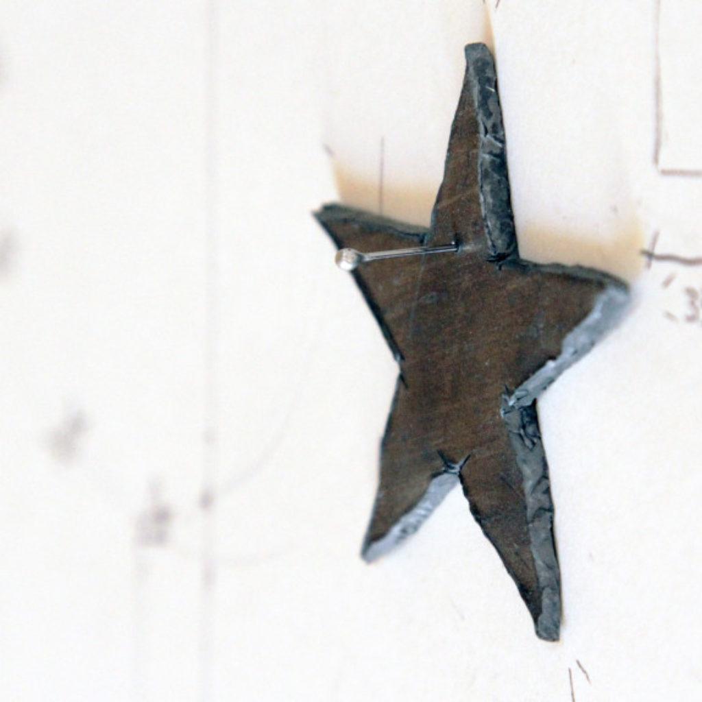 mezzeuropa (progetto) part. disegno e piombo su carta cm. 42,5 x 32,5. 2015