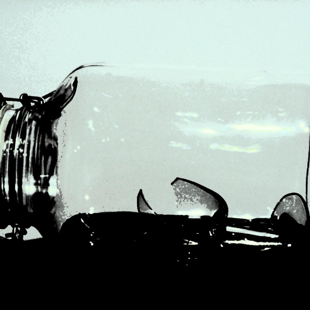 memories - on some faraway beach. barattolo di vetro, bicchiere, sassi, resina, base in legno, cm. 37 x 37 x 138. 1997