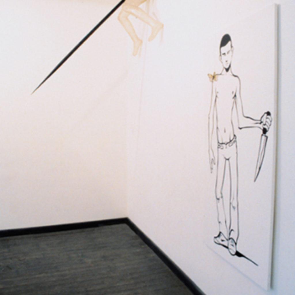 serious killer (allestimento) Galleria de Crescenzo