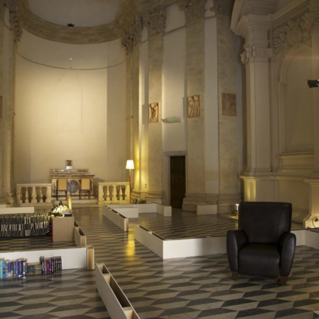 INNOMINEDOMINI. sala santa rita, dimensioni ambientali. 2016
