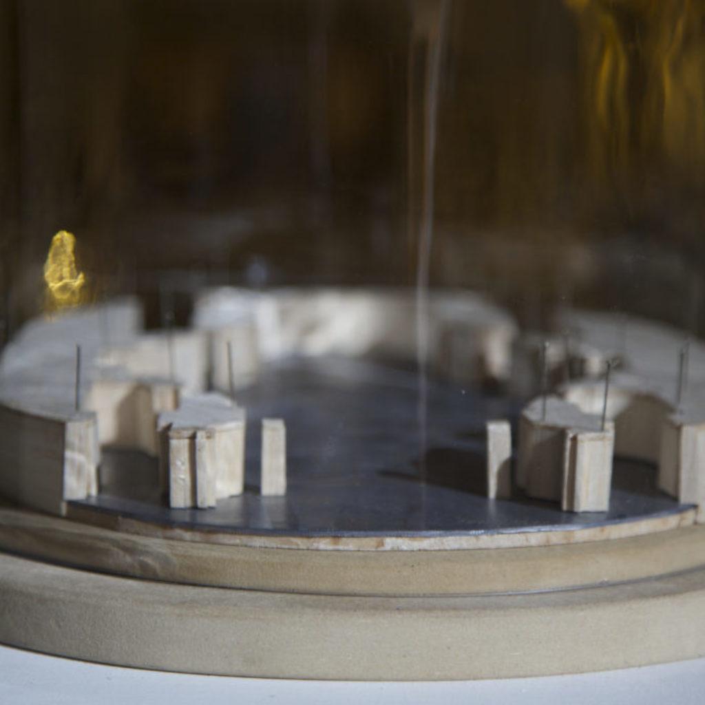 INNOMINEDOMINI (plastico). sala santa rita, dimensioni ambientali. 2016